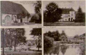 Eine Ansichtskarte, ca. 1936